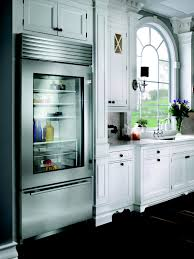 glass refrigerators